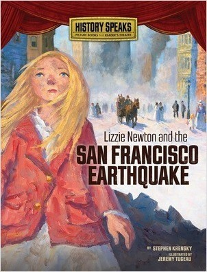 Cover: Lizzie Newton and the San Francisco Earthquake
