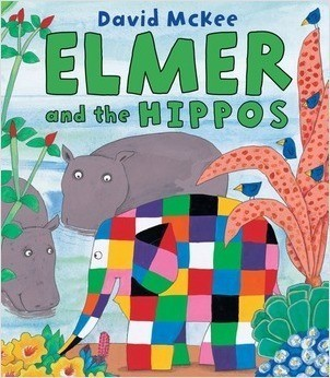 Cover: Elmer and the Hippos