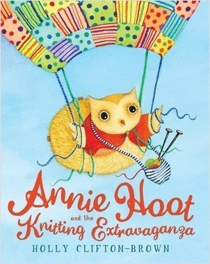 Cover: Annie Hoot and the Knitting Extravaganza