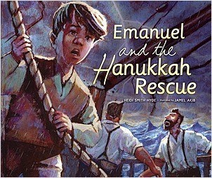 Cover: Emanuel and the Hanukkah Rescue