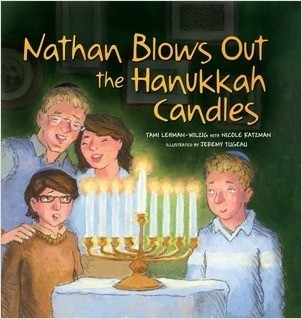 Cover: Nathan Blows Out the Hanukkah Candles