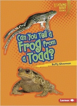 Cover: Can You Tell a Frog from a Toad?