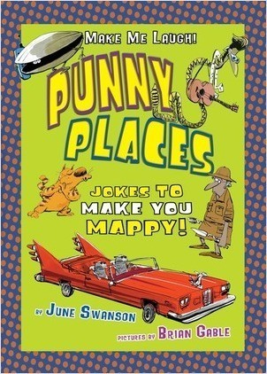 Cover: Punny Places: Jokes to Make You Mappy