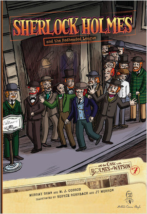 Cover: Sherlock Holmes and the Redheaded League: Case 7
