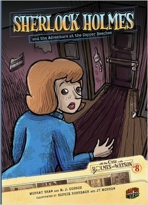 Cover: Sherlock Holmes and the Adventure at the Copper Beeches: Case 8