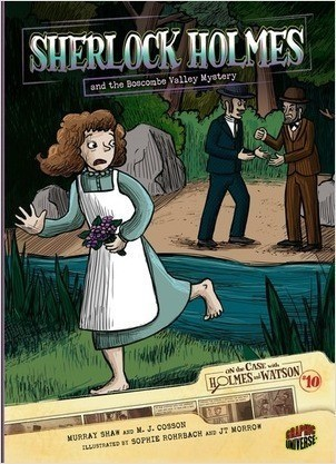 Cover: Sherlock Holmes and the Boscombe Valley Mystery: Case 10