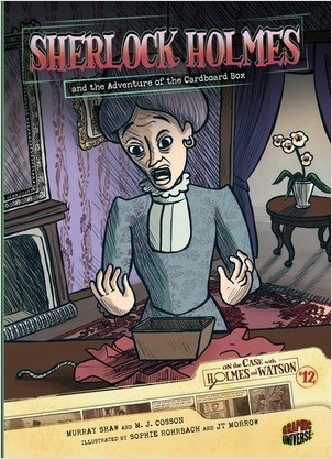 Cover: Sherlock Holmes and the Adventure of the Cardboard Box: Case 12
