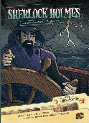 Cover: Sherlock Holmes and the Adventure of Black Peter: Case 11