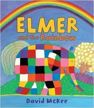 Cover: Elmer and the Rainbow