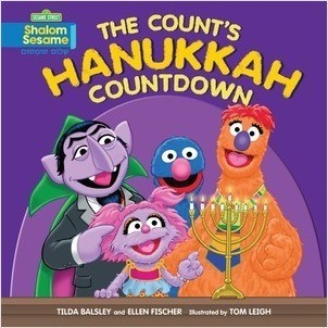 Cover: The Count's Hanukkah Countdown