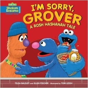 Cover: I'm Sorry, Grover: A Rosh Hashanah Tale