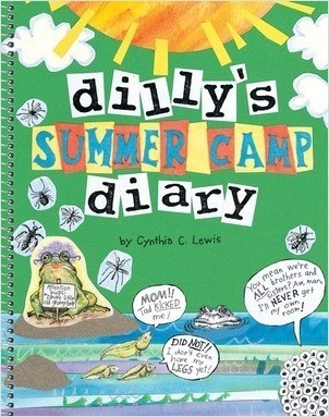 Cover: Dilly's Summer Camp Diary