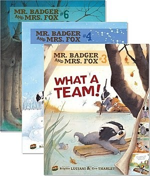 Cover: Mr. Badger and Mrs. Fox — Paperback Set