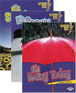 Cover: Lightning Bolt Books ™ — What's the Weather Like? — Interactive Books Set