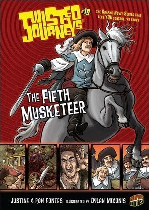 Cover: The Fifth Musketeer: Book 19