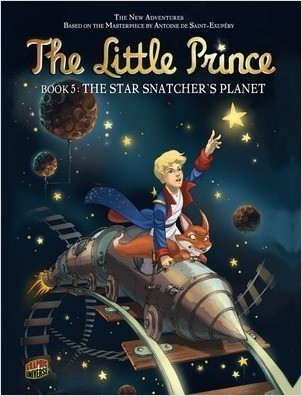 Cover: The Star Snatcher's Planet: Book 5