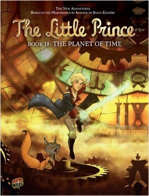 Cover: The Planet of Time: Book 18