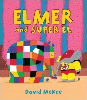 Cover: Elmer and Super El