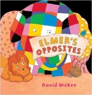 Cover: Elmer's Opposites