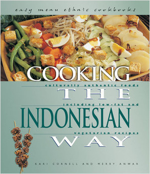 Cover: Cooking the Indonesian Way