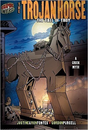 Cover: The Trojan Horse: The Fall of Troy [A Greek Myth]