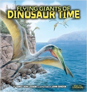 Cover: Flying Giants of Dinosaur Time