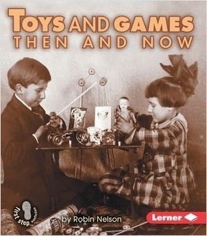 Cover: Toys and Games Then and Now