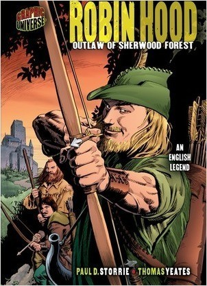 Cover: Robin Hood: Outlaw of Sherwood Forest [An English Legend]