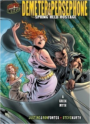 Cover: Demeter & Persephone: Spring Held Hostage [A Greek Myth]
