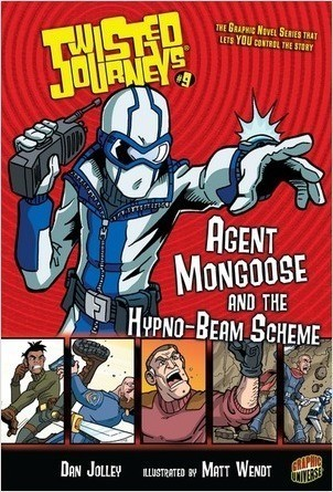 Cover: Agent Mongoose and the Hypno-Beam Scheme: Book 9