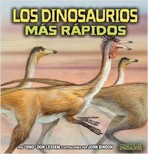 Cover: Los dinosaurios más rápidos (The Fastest Dinosaurs)