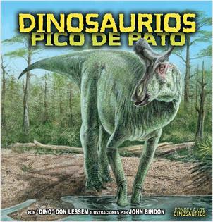 Cover: Dinosaurios pico de pato (Duck-Billed Dinosaurs)