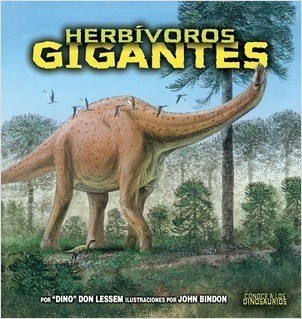Cover: Herbívoros gigantes (Giant Plant-Eating Dinosaurs)