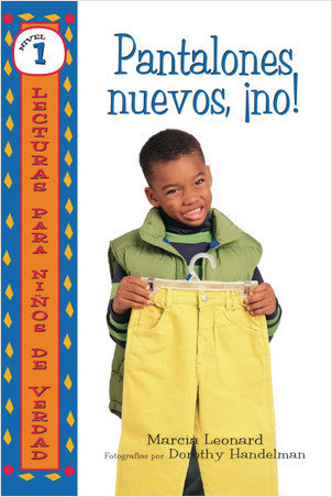 Cover: Pantalones nuevos, ¡no! (No New Pants!)