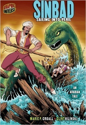 Cover: Sinbad: Sailing into Peril [An Arabian Tale]