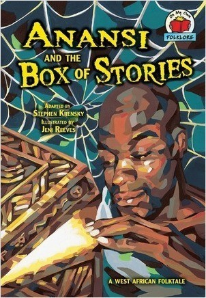 Cover: Anansi and the Box of Stories: [A West African Folktale]