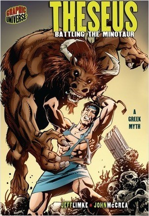 Cover: Theseus: Battling the Minotaur [A Greek Myth]