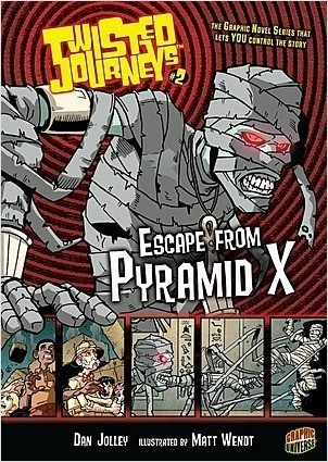 Cover: Escape from Pyramid X: Book 2