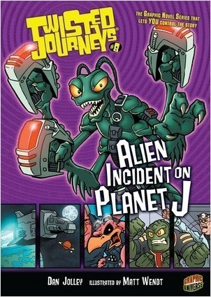 Cover: Alien Incident on Planet J: Book 8