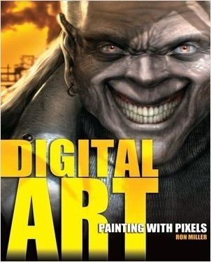 Cover: Digital Art: Painting with Pixels