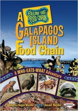 Cover: A Galápagos Island Food Chain: A Who-Eats-What Adventure
