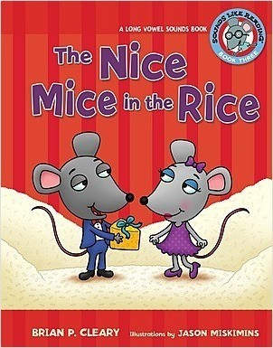 Cover: The Nice Mice in the Rice: A Long Vowel Sounds Book