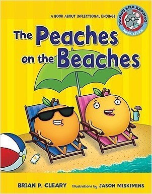Cover: The Peaches on the Beaches: A Book about Inflectional Endings