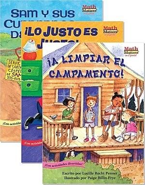 Cover: Math Matters en español — Paperback Set