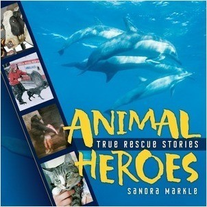 Cover: Animal Heroes: True Rescue Stories