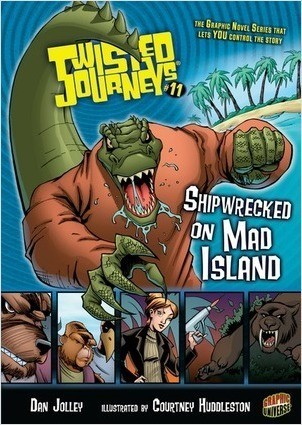 Cover: Shipwrecked on Mad Island: Book 11