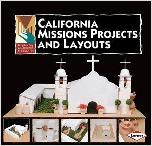 Cover: California Missions Projects and Layouts