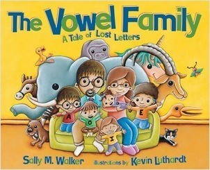 Cover: The Vowel Family: A Tale of Lost Letters