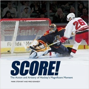 Cover: Score!: The Action and Artistry of Hockey's Magnificent Moment