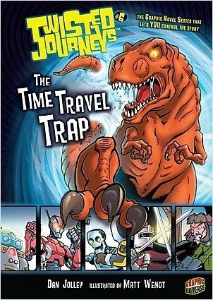 Cover: The Time Travel Trap: Book 6